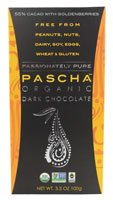 Organic Dark Chocolate 55% Cacao with Goldenberries Pascha Organic 3.5 oz (100g) by Pascha Organic