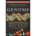 img - for Genome: The Autobiography of a Species in 23 Chapters (P.S.) 1st (first) edition book / textbook / text book