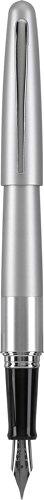 Pilot Metropolitan Collection Fountain Pen, Silver Barrel, Classic Design, Fine Nib, Black Ink (91113) (Fountain Pen And Inc compare prices)