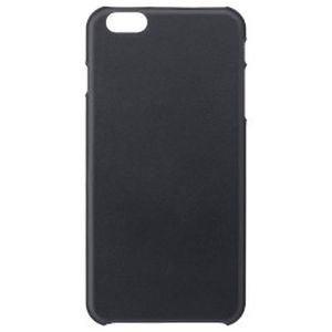 【正規代理店品】 SoftBank SELECTION レザーカバードケース for iPhone 6 Plus / ブラック SB-IA11-HCLS/BK