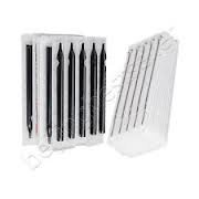(50) Counts of Assorted Pre-sterilized Tattoo Needles with (50) Counts of Matching Gripless Tubes