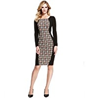 M&S Collection Jewel Block Bodycon Dress