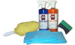 Jax Wax Commercial Grade Wheel and Tire Clean and Care Kit