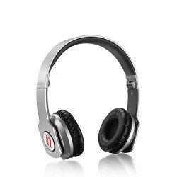 Noontec Zoro Adjustable On Ear Stereo Hi-Fi Earphone Headphone For Pc Mp3 Mp4 Ipod Iphone Ipad Tablet Cellphone Mobile Phone