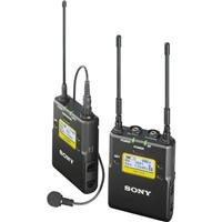 Sony Integrated Digital Wireless Bodypack Lavalier Microphone System, Includes Utx-B03 Transmitter, Urx-P03 Receiver, Uhf Channels 14/25: 470-542Mhz