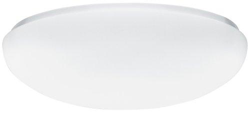 Lithonia Lighting Fm 22 Aclr Lp M4 Acrylic Single-Light Fluorescent Semi-Flush-Mount Ceiling Fixture, White