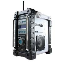 MAKITA BMR101W Job site DAB Digital Radio - White (without Battery and Charger)