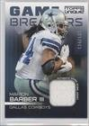 Marion Barber Iii #124/199 Dallas Cowboys (Football Card) 2009 Topps Unique Game Breakers Relics #Gsr-Mb