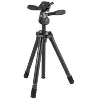 "Velbon Ultra LUXi-L Aluminum Tripod with Quick Release PHD-41Q 3-Way Pan/Tilt Head, Maximum Height 63"", Supports 5.5 lb"
