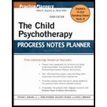 img - for Child Psychotherapy Progress Notes Planner (3rd, 07) by Jr, Arthur E Jongsma - Peterson, L Mark - McInnis, William [Paperback (2007)] book / textbook / text book