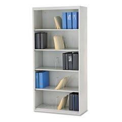** 600 Series Jumbo Open File, 5-Shelf, Steel, Legal, 36w x 16-3/4d x 75-7/8h, Gray **