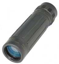 Barska 10x25 Lucid-View Pocket Roof BK-7 Prism Monocular, Black - Clam Pack - AA10311