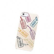 Special Sale Coach Hangtag Mix Iphone 5 Hard Case Cover Multi