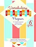 img - for Vocabulary Improvement Program for English Language Learners and Their Classmates, 6th Grade book / textbook / text book