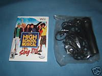 Nintendo Wii System Video Game with Microphone item: Nintendo Wii High School Musical with Microphone: Sing It Video Game Bundle with Microphone (WII SYSTEM IS NOT INCLUDED)(WII SYSTEM IS SOLD SEPERATELY)(VIDEO GAME WITH MICROPHONE ONLY)