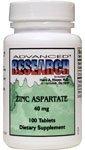 Advanced Research/Nutrient Carriers Zinc Aspartate 100 Tabs