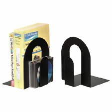 Officemate International Corp : H.Duty Bookends, Steel Construction, Nonskid Base, 10\