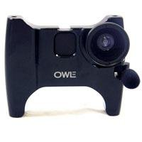 Owle Bubo Camera Mount, Microphone, Stabilizer / 37mm Wide-Angle Lens for iPhone 3GS