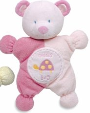 Comfort Cuddly Rattle Toy-Pink