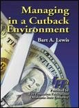 img - for Managing in a cutback environment book / textbook / text book