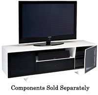 Cheap BDI Marina Series White TV Stand (MARINA8729)