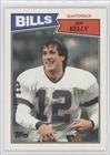 Jim Kelly Buffalo Bills (Football Card) 1987 Topps #362