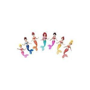 Disney Princess Favorite Moments Mermaid Doll 7-Pack - The Little Mermaid Sisters