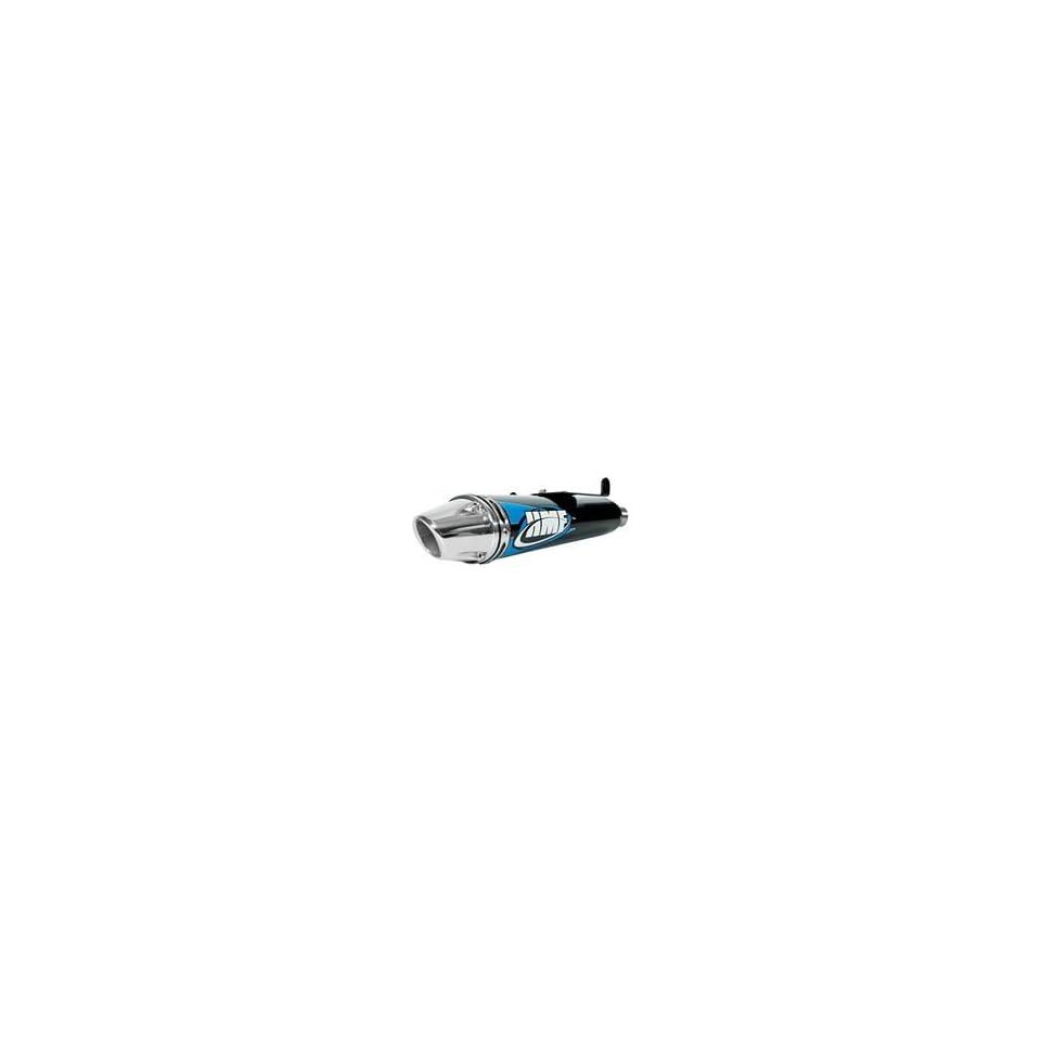 06 09 HONDA TRX450R HMF Competition Complete Exhaust Black