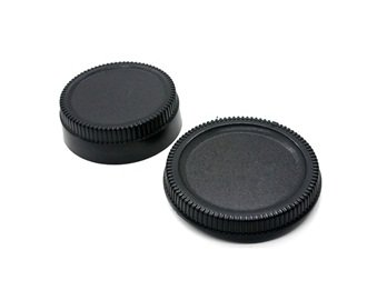 Rear Lens Cap Cover For Nikon 35Mm Slr Cameras (Black)