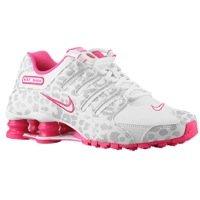 Nike Women s Shox NZ Running Shoe White White Metallic Platinum 7 M US