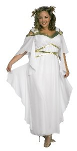 Roman Goddess Adult Costume Size 16-20 Plus