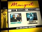 echange, troc Maigret - les meilleures enquetes jean Richard, volume 27 - Maigret  et le Tueur - Maigret et l'homme tout seul