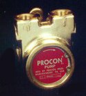 114E330F11XX - Procon brass, 330 GPH bolt-on, for 1 HP