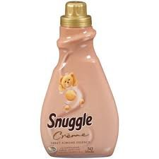 Snuggle Creme Liquid Fabric Softener, Sweet Almond Essence, 50 loads (50 fl. oz.)
