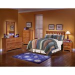 Image of City Park Kids Slat Headboard Bedroom Set by Standard Furniture (4850-HB-B-SET)