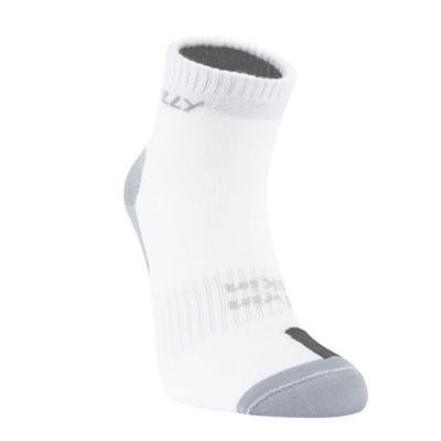Hilly Twin Skin Anklet Socks - Whitegreyblack