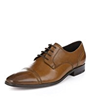 Autograph Leather Toe Cap Derby Shoes