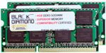 8GB 2X4GB RAM Memory for Compaq Presario CQ Series CQ56 (DDR3) Black Diamond Memory Module DDR3 SO-DIMM 204pin PC3-8500 1066MHz Upgrade