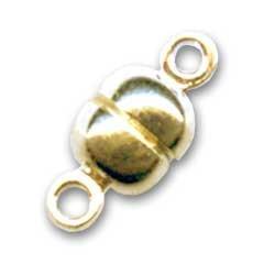 Magnetverschluß 11x5 mm Gold tone x1