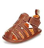 Multi Strap Fisherman Pram Shoes