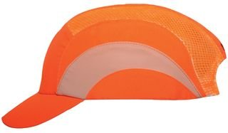 HARDCAP, SHORT PEAK, 5CM, HI-VIZ ORANGE BPSCA ABS000-001-600 - HE33081 Di JSP