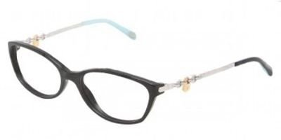 TIFFANY Eyeglasses TF 2063 8001 Black 52MM