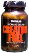 Creatine Fuel Twinlab - 60 Capsules, Lot de 2