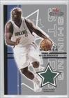 Antoine Walker Dallas Mavericks (Basketball Card) 2003-04 Fleer Mystique Shining... by Fleer Mystique