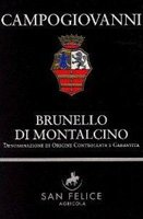 2007 Campogiovanni Brunello Di Montalcino 750ml