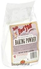 Baking Powder, Aluminum Free, 16 oz.