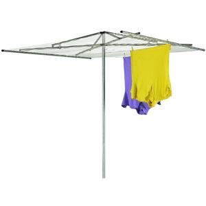 Household Essentials H-150 30-Line Outdoor Parallel-Style Clothes Dryer with Steel Arms