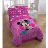 Disney Minnie New Design Twin Bedding Sheet Set