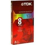 TDK T120RVAXS10 120 Minute Standard Video Tape - 10 Pack