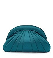 M&S Collection Pleated Clutch Bag